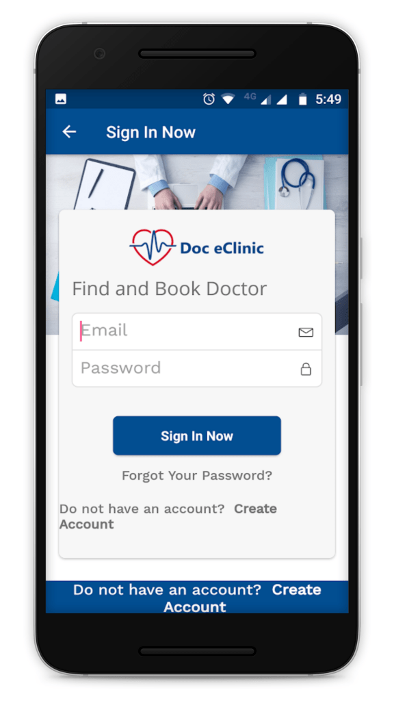 Doc eClinic Android App
